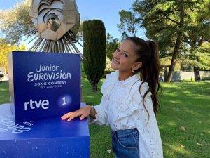 Una coreografía potente y dinámicos elementos visuales acompañarán a Soleá en Eurovisión Junior 2020