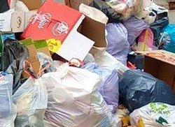Cada español generó 485,9 kilogramos de basura en 2018, un 0,8% más que el año anterior, según el INE