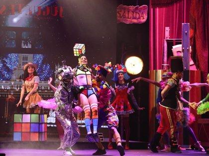 El Price muta en una gran juguetería con bailarines y artistas de circo en la nueva edición de 'Circo Price en Navidad'