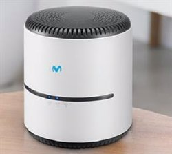El amplificador Smart WiFi 6 de Movistar mejora la cobertura del hogar un 30% y aumenta por 5 la velocidad de conexión