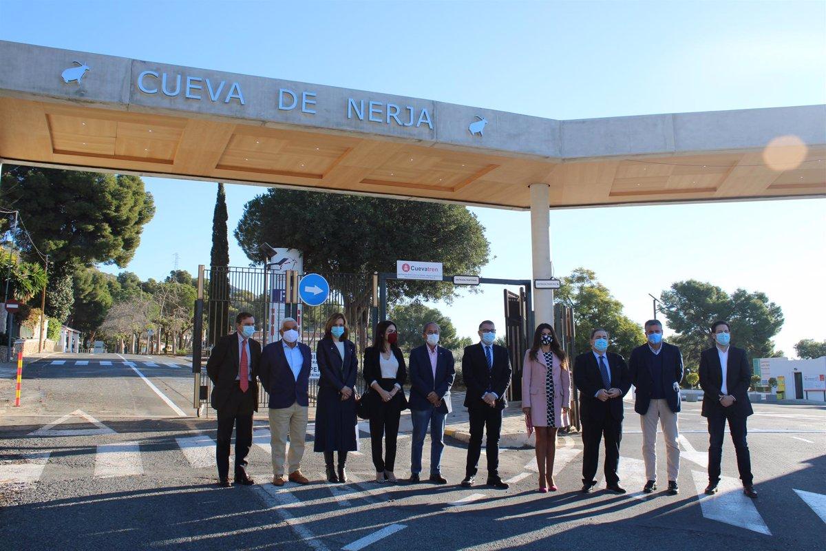 La Cueva de Nerja mejora los accesos e incorpora un parque para las familias - Descubrir