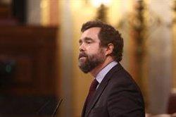 Vox dice que el Gobierno puede actuar sobre el 30% de la factura eléctrica y le acusa de no bajar el precio por interés