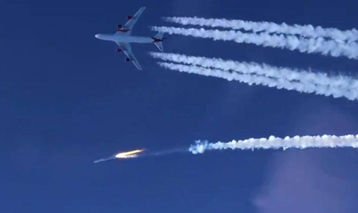 Virgin Orbit lanza 10 cubeSats al espacio desde un avión - Descubrir