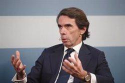Aznar apoya un