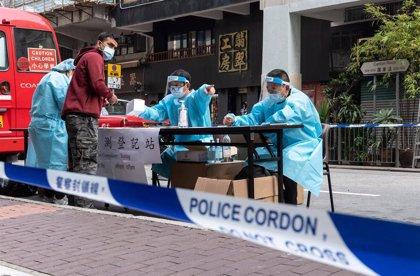 Hong Kong vuelve a superar el centenar de casos después de un mes, mientras China suma otros 118