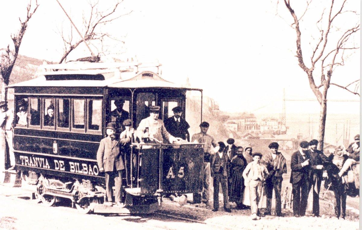 El Museo Vasco del Ferrocarril conmemoran el 125 Aniversario del primer vehículo ferroviario eléctrico - Descubrir