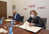 Fundación Multiópticas dona al CSIC 15.000 euros para la investigación de la vacuna del COVID-19