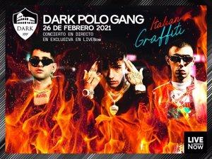El trío de trap italiano Dark Polo Gang abren 'Italian Graffiti', el nuevo formato de la plataforma LIVENow