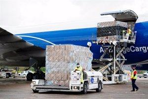 Aena aumentará en un 7,5% la capacidad de manejo de mercancías en el aeropuerto Adolfo Suárez Madrid-Barajas