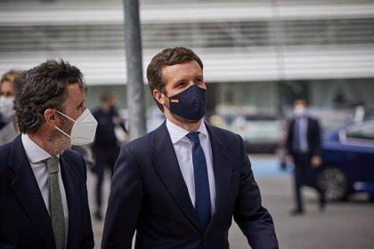 Casado exige al Gobierno modificar el decreto sobre fondos europeos para no poner en riesgo las ayudas