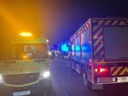 Accidente laboral deja dos heridos graves en centro comercial de Fuenlabrada tras fogonazo de cuadro eléctrico