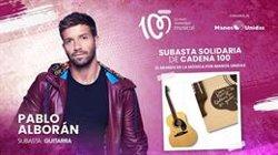 Una guitarra de Pablo Alborán y un LP firmado por Ed Sheeran, en la subasta solidaria de Cadena 100 por Manos Unidas
