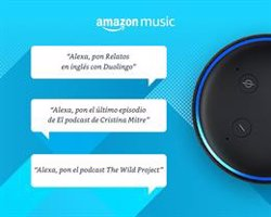 Amazon Music anuncia la llegada de podcasts para sus usuarios en España