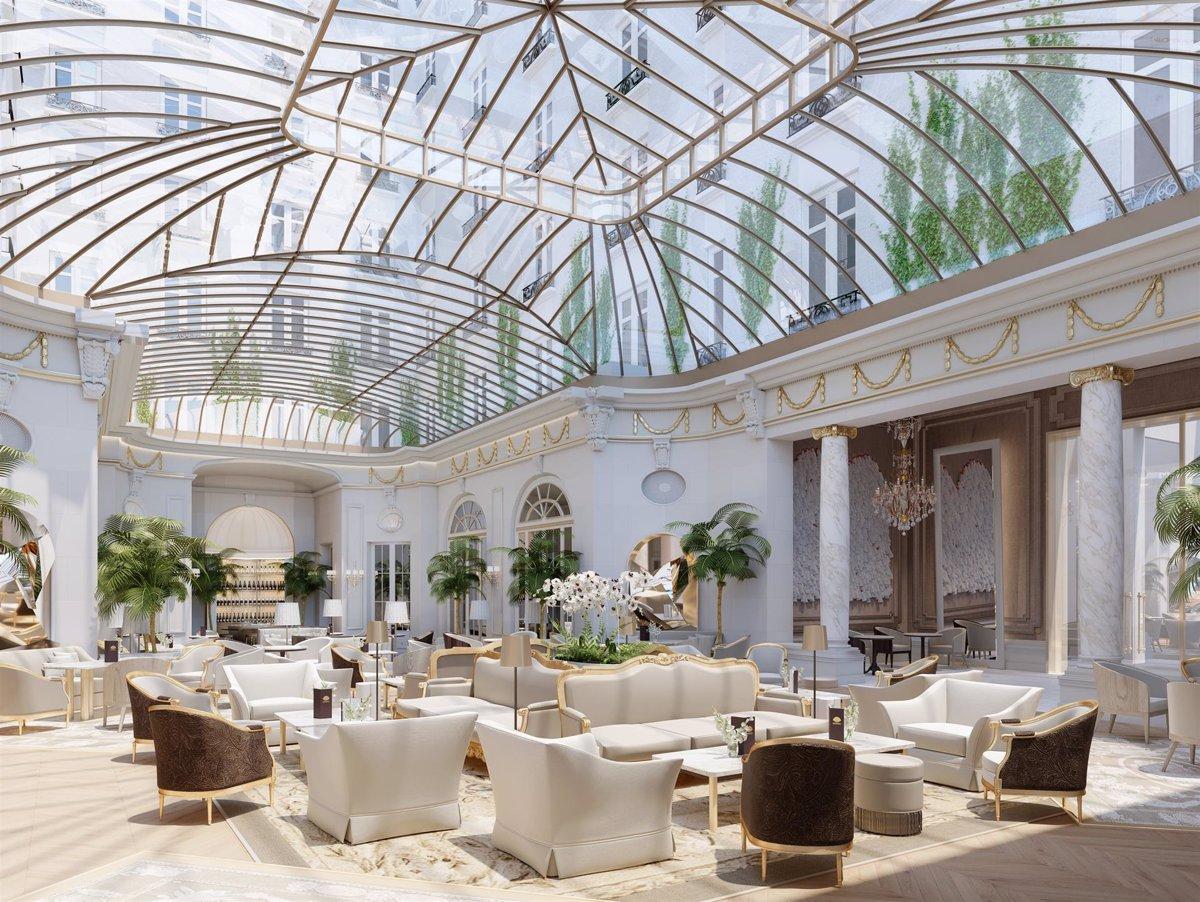 El icónico hotel Ritz de Madrid vuelve a abrir sus puertas tras una importante reforma - Descubrir