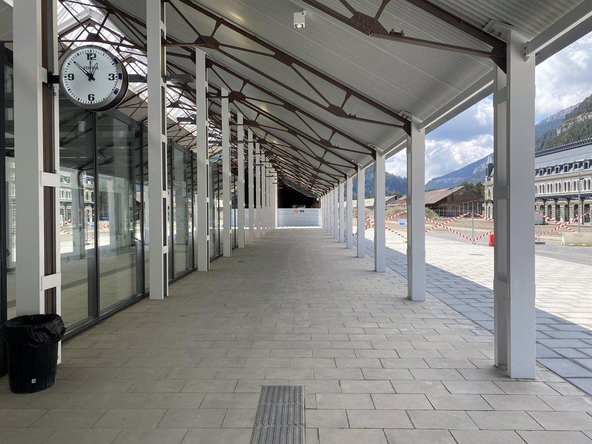 Aragón presenta el futuro de la Estación de Canfranc en Huesca - Descubrir