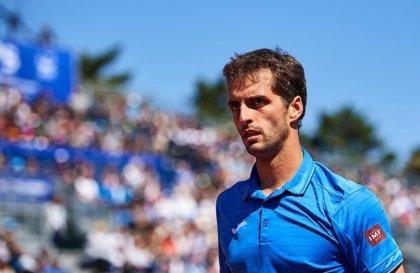 El tenista español Albert Ramos, épico campeón en Estoril