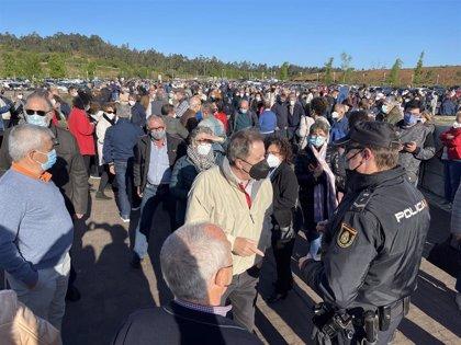 Galicia prevé acabar la vacunación de los mayores de 60 y empezar con los menores de 59 la próxima semana