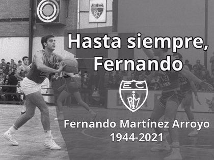 Fallece el exjugador de Estudiantes Fernando Martínez Arroyo
