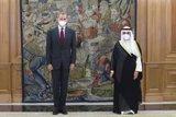 El Rey recibe al ministro de Exteriores de Kuwait para abordar