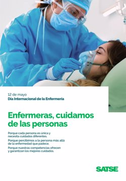 Satse pone en valor los cuidados de la Enfermería en el día internacional de la profesión