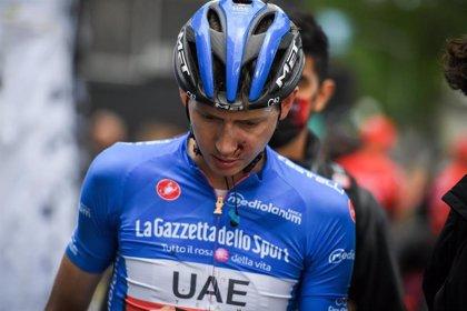 Joe Dombrowski abandona el Giro por la misma caída de Landa