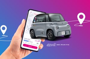 Free2Move incorpora el nuevo Citroën AMI a su flota de 'car sharing' de Madrid