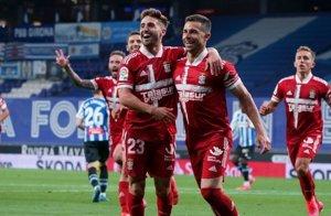 El Cartagena se aleja del descenso en casa del ascendido Espanyol