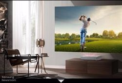 Samsung presenta su proyector The Premiere, con pantallas de hasta 130 pulgadas y HDR10+