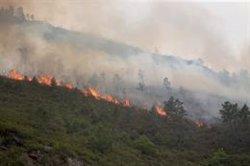 El incendio de Folgoso (Lugo) arrasa 105 hectáreas y otro en Salvaterra (Pontevedra) alcanza las 180
