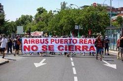El Congreso, salvo Vox, apoya instar al Gobierno a garantizar la continuidad de Airbus en Puerto Real