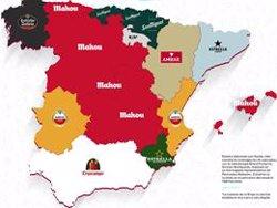 Mahou, la cerveza más elegida por los españoles