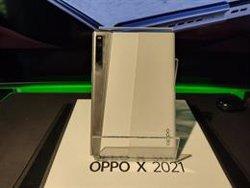 Oppo X 2021: Así es el móvil con pantalla enrollable que Oppo espera que