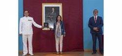 La Armada Española recibe la Medalla de Oro de la Universidad de Cádiz con la presencia de Margarita Robles