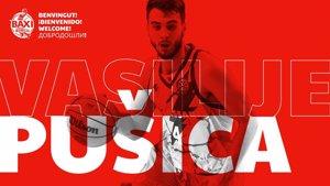 El base serbio Vasilije Pusica, nuevo jugador del Baxi Manresa