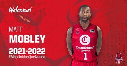El escolta Matt Mobley jugará en Zaragoza esta temporada