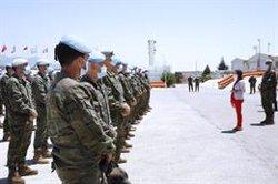 Robles quiere que un general español lidere la misión en Líbano en 2022: