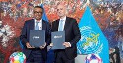 La FIFA lanza una nueva campaña para mejorar la salud mental con el apoyo de la OMS