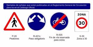 En España hay más de 125 señales de tráfico que no están recogidas en el código de circulación