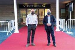 La alfombra roja del Festival Internacional de Cine de San Sebastián será