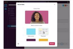 Slack lanza los clips de vídeo como alternativa a las reuniones de trabajo