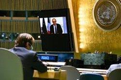 Francia critica ante la ONU que la paz
