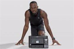 Usain Bolt promueve la impresión sin cartuchos de tinta