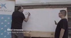 Mikel Urmeneta, Juan Ramón Lucas y Mariló Montero apadrinan con CaixaBank el cortometraje 'Bulit' sobre el autismo